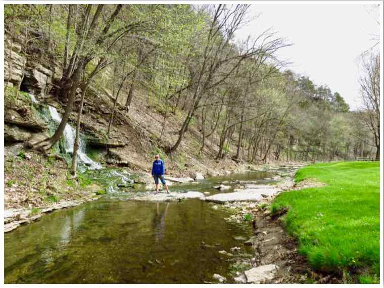 Spook Cave Bloody Run Trout Stream