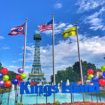 Kings Island Amusement Park by Nedra