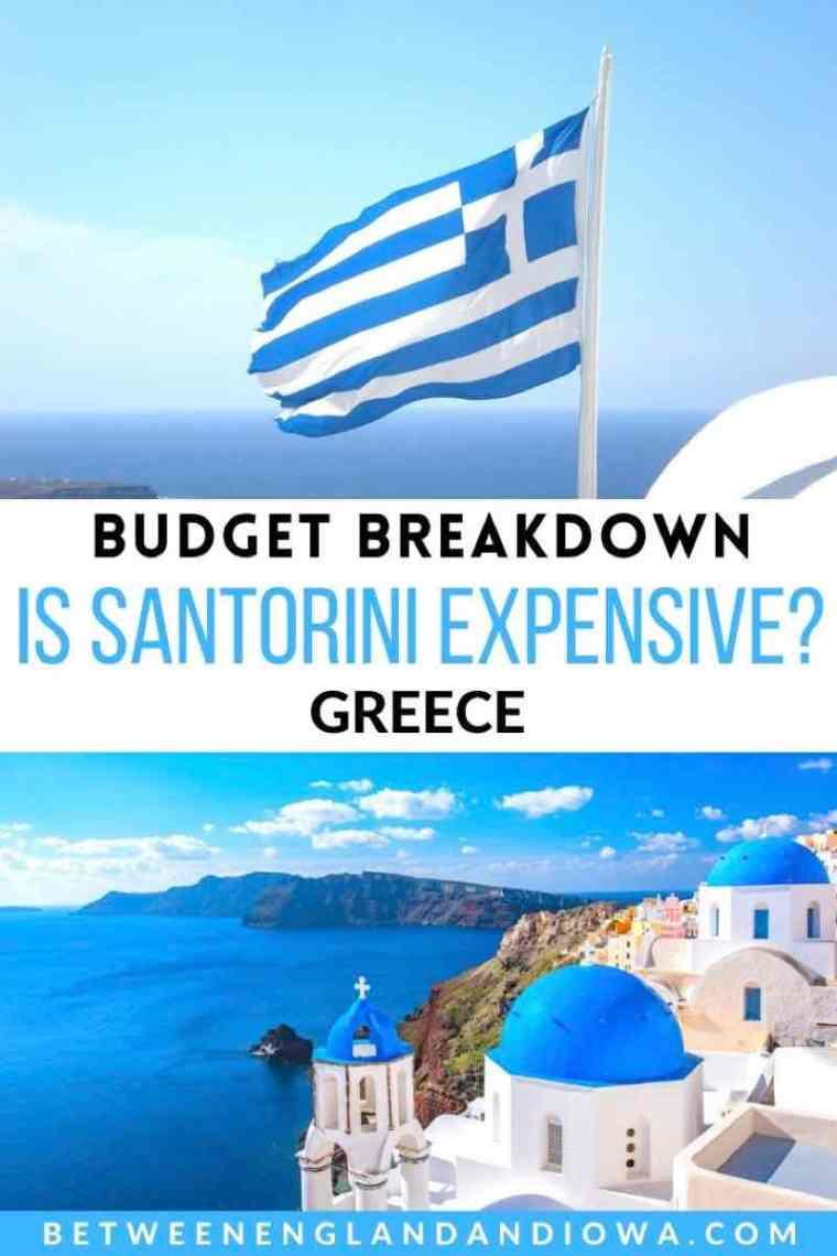 Is Santorini Expensive? Greece Travel