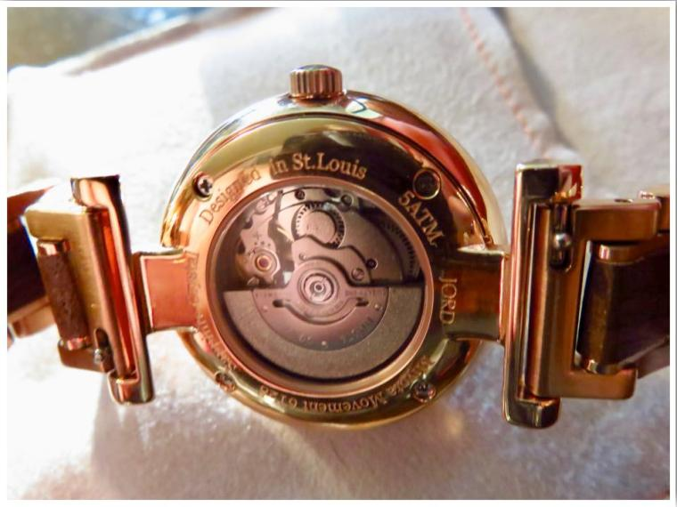 JORD watches designed in St Louis MO