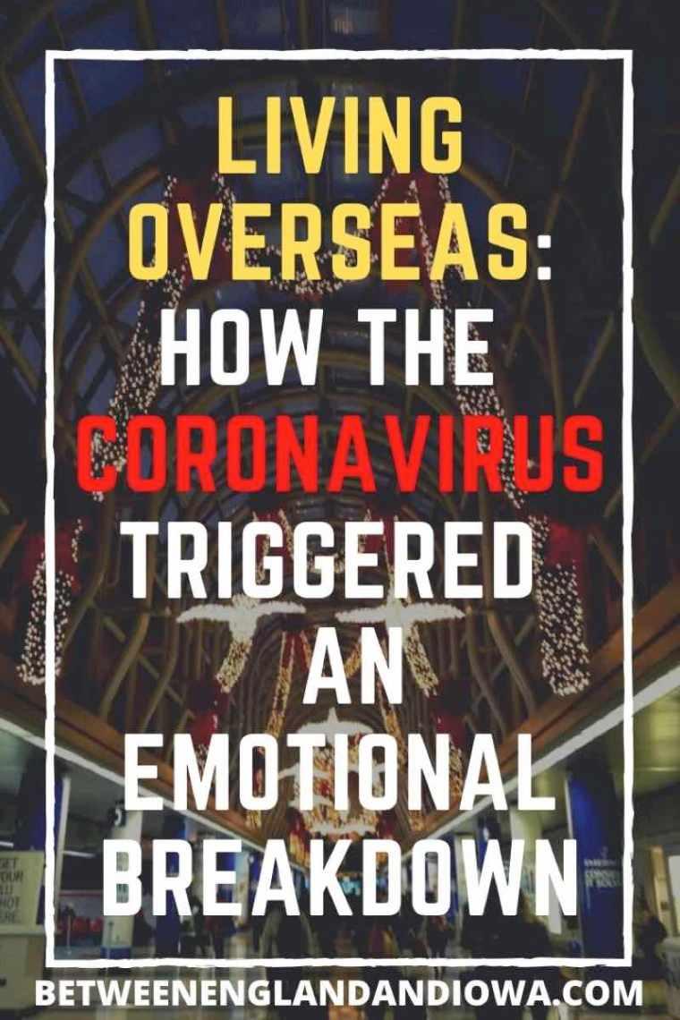 Coronavirus Emotional Breakdown