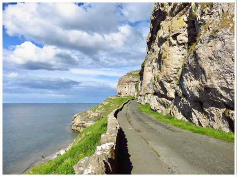 Llandudno Marine Drive Great Orme Toll Road North Wales