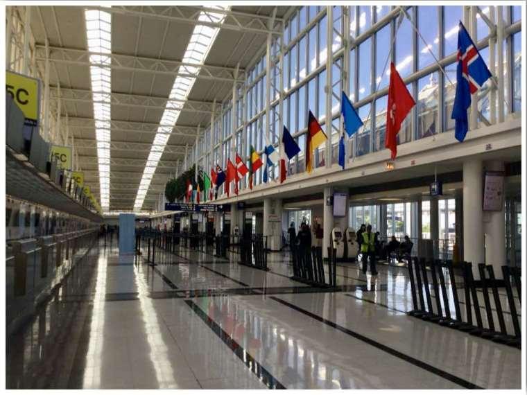 June 2020 Chicago ORD International Terminal 5 Departures