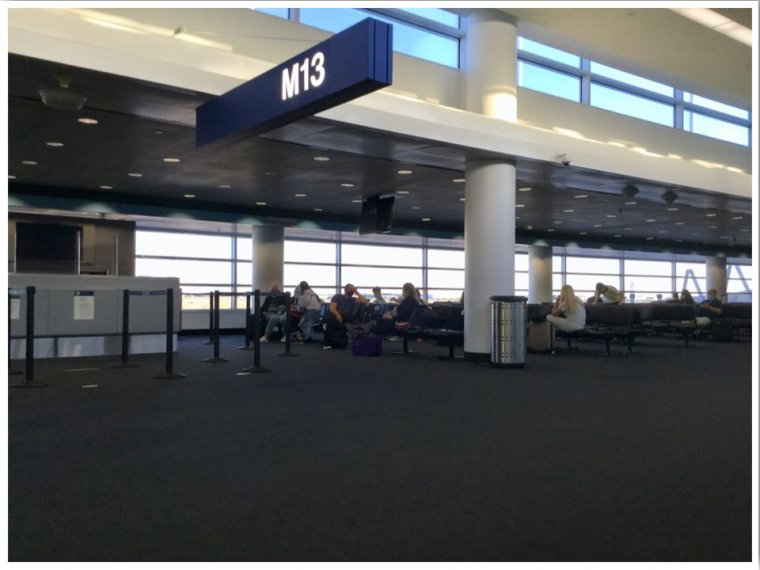 June 2020 Chicago ORD International Terminal 5 Departure Gate 30 minutes before boarding