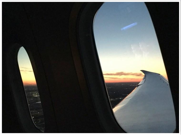 British Airways Dreamliner Club World Window Seat