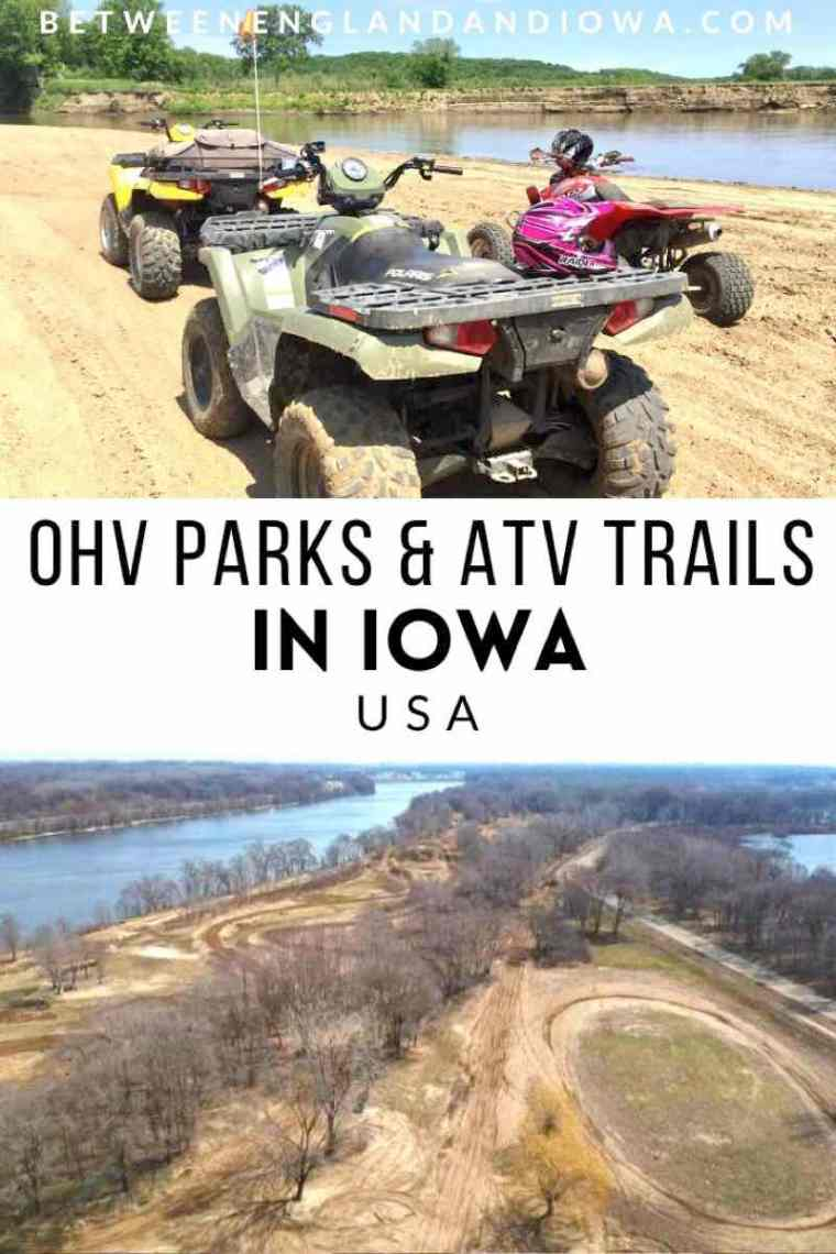 OHV Parks and ATV Trails in Iowa USA