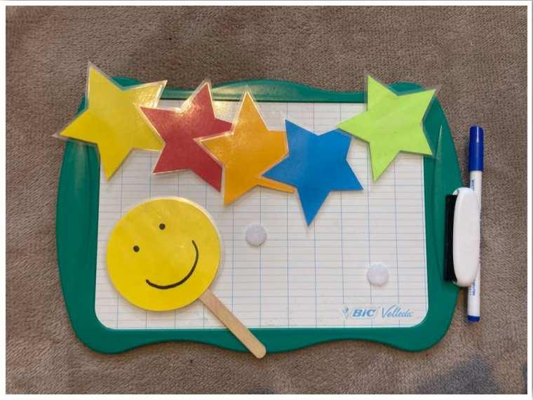 Teaching Online Whiteboard Reward System Props