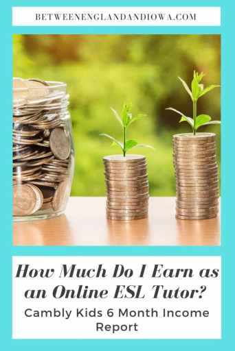 Cambly Kids Income Report