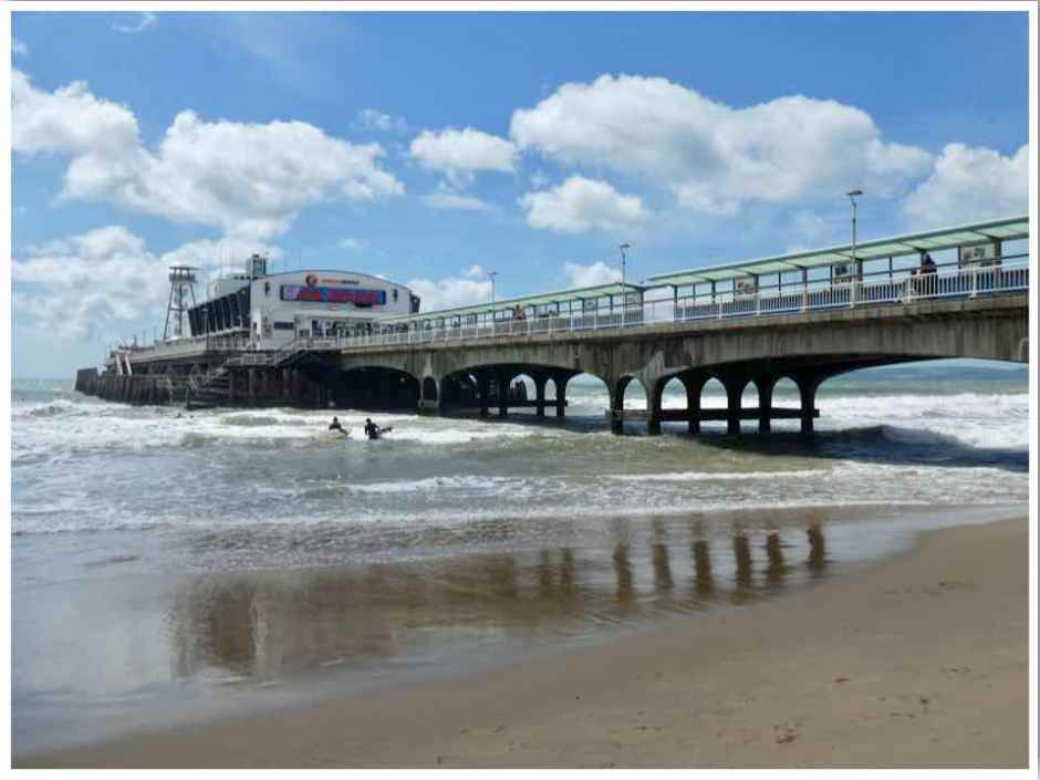 Bournemouth Pier UK