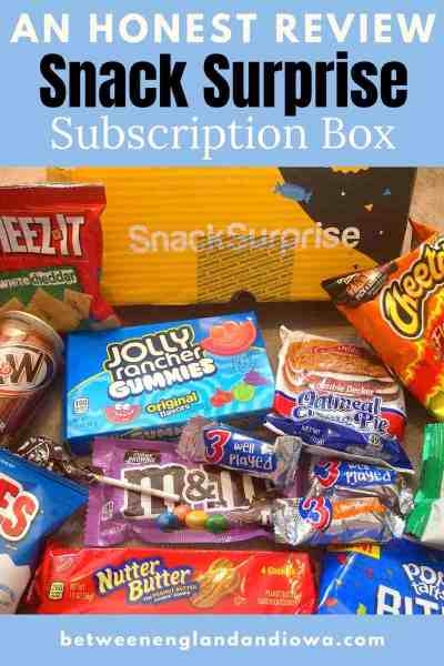 Snack Surprise Review Subscription Box 2021