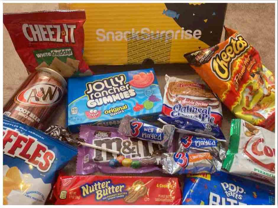 Snack Surprise Subscription Box 2021