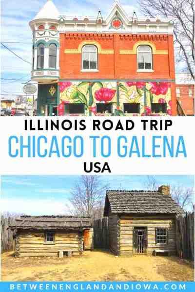 Chicago to Galena Road Trip Illinois USA
