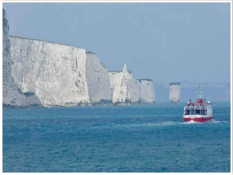Swanage Old Harry Rocks Dorset U
