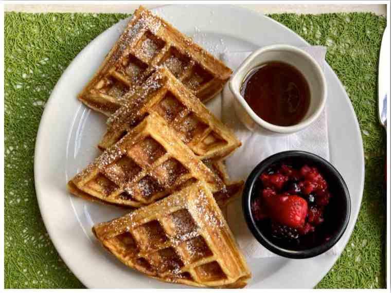 Cider Pantry Burley Breakfast Waffles