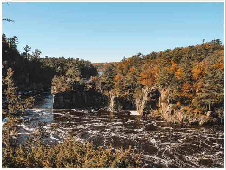Interstate State Park in Fall on the Wisconsin Minnesota border by Megan