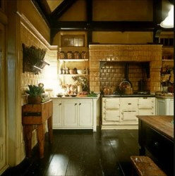 practical magic victorian movie kitchen floor aga decor interior tour stove film kitchens oven pratical betweennapsontheporch homes garden dream gillian