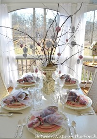 Table Setting for Valentines Day, Mothers Day or Bridal ...