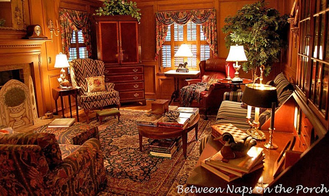 Contemplating New Window Treatments for the Family Room