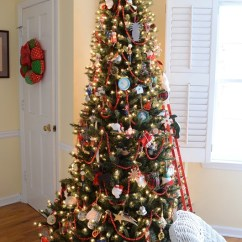 Living Room Outlet Versace Decor Wrapping Gifts With Plaid Ribbons And Turning On Christmas ...