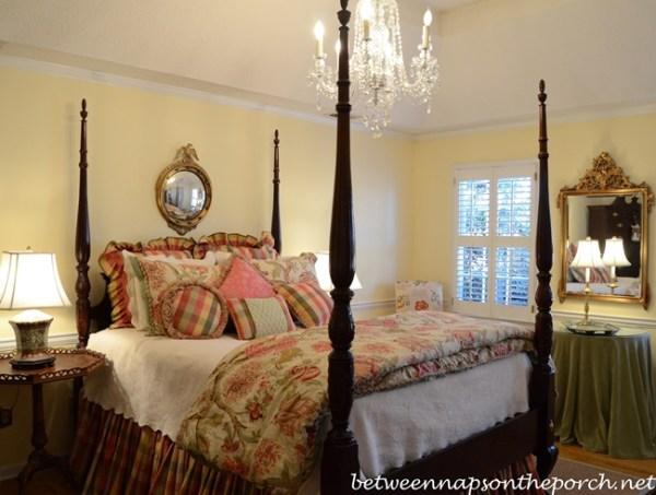 master bedroom chandelier A Crystal Chandelier for the Master Bedroom