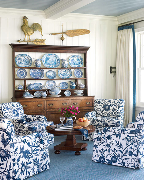Blue And White Home Decor
