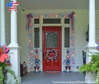 4th Of July Porch Decorating Ideas Between Naps On The ...