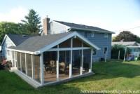 Screened-in Porch Addition: Convert a Patio into a Porch