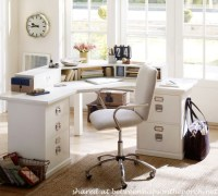 Comfortable Desk Chair: Pottery Barn Airgo Swivel Desk Chair