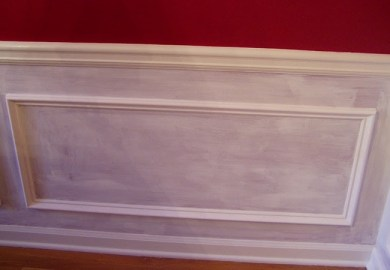 Chair Molding Living Room