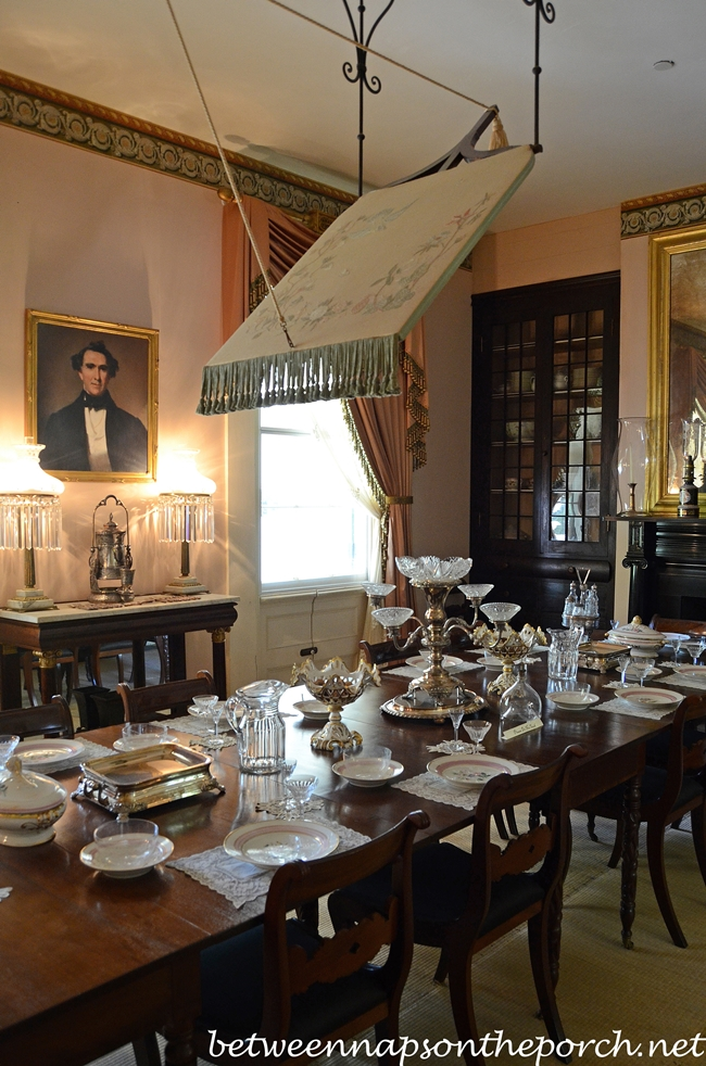 Dining In Rosedown Plantation St Francisville Louisiana