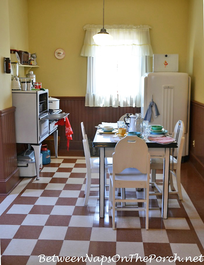 Inside The Kitchen of A Christmas Story Movie House