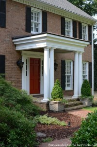 Colonial Front Door. Latest The Details With Colonial ...