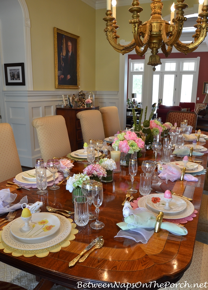 Celebrate Spring With A Floral Amp Bunny Table Setting