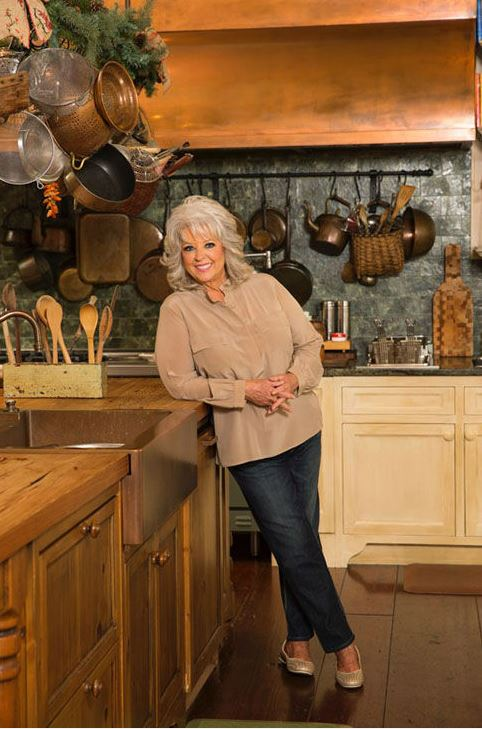 paula deen kitchen island and chairs tour s savannah riverside home river bend between naps in her