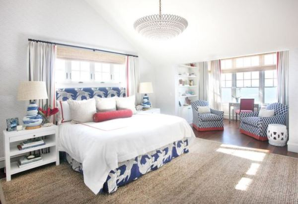 beach house bedroom Tour A Fabulous Beach House On Long Beach Island