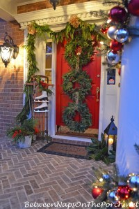 7 Christmas Porches