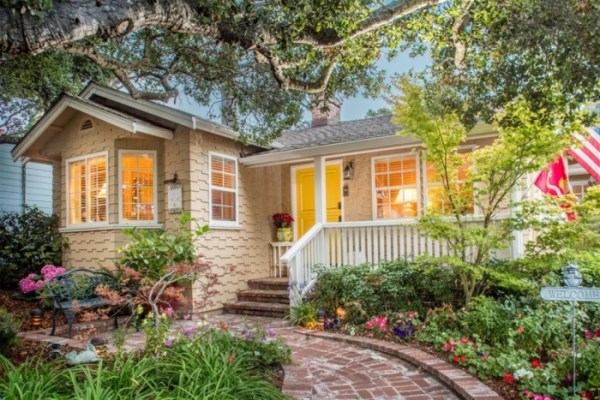 Tour This Carmel by the Sea Cottage for Sale