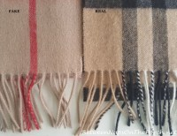 Burberry Scarf: Fake vs Real & How to Tell the Difference