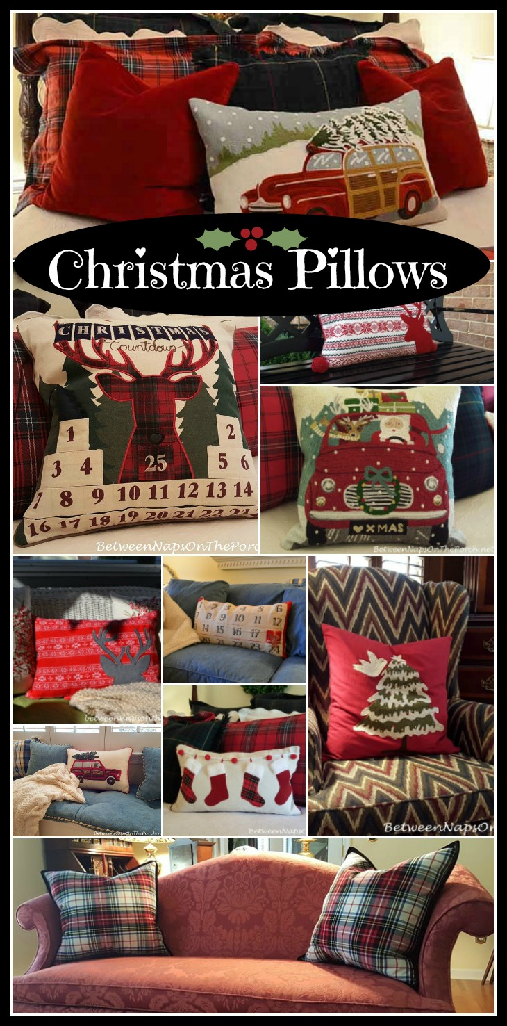 Buy Embroidered, Christmas Throw Pillows Online at