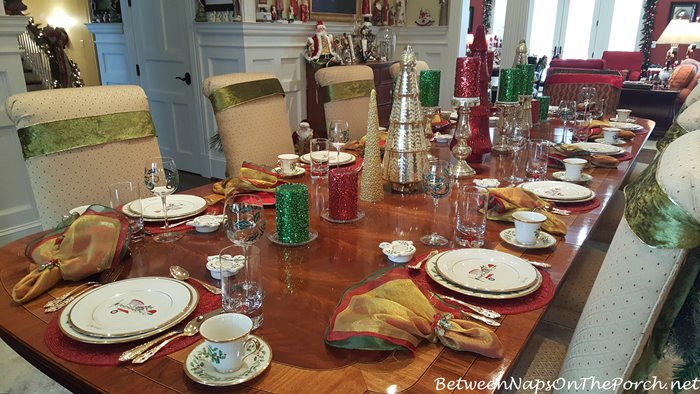 pier one accent chairs steel chair ikea beautiful christmas table with lenox holiday & whimsical 2016 biplane plate