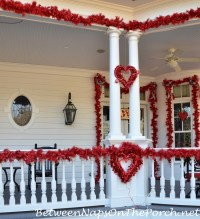 Valentines Day Decorations: Decorate the Porch, Front