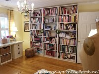 Decorate Your Bookshelves with a Small Shelf