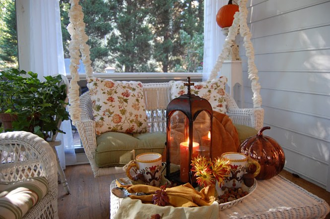 Decorate A Pumpkin With Ribbon For