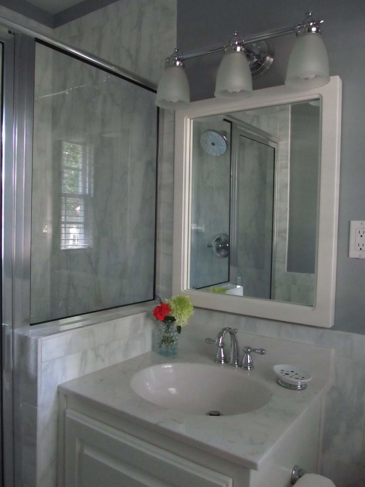 1980s Bath Renovation Sleek and Modern