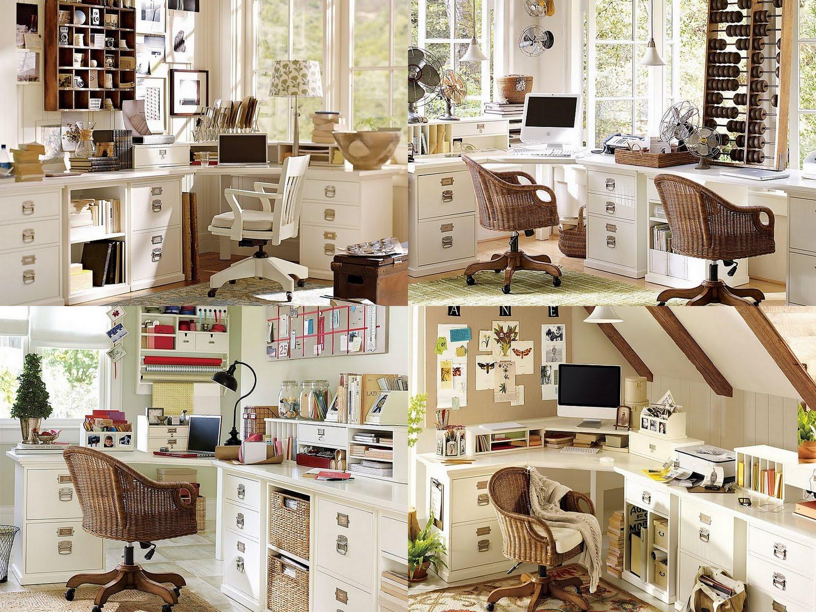 Pottery Barn Home Office Ideas