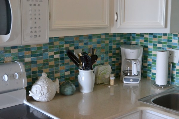 beach house kitchen backsplash Beach House Renovation