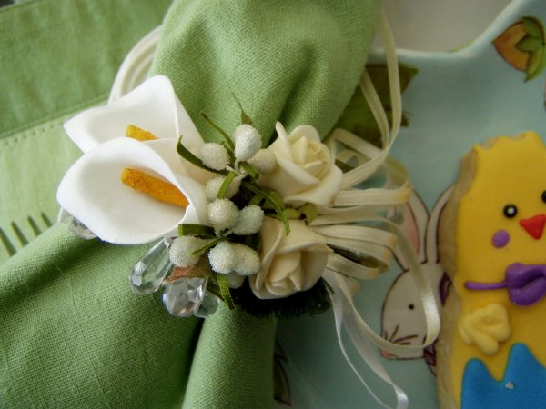 Easter Table Scape Centerpieces