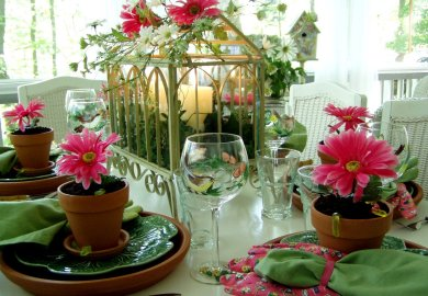 Garden Tea Party Table