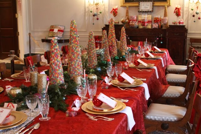 Christmas Dinner At The Georgia Governors Mansion