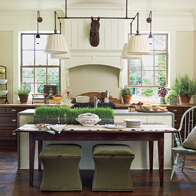 Southern Living Idea House In Senoia Georgia Kitchen And Dining Room